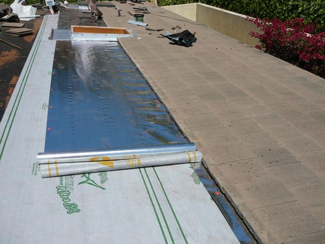 California Flat Concrete Tile Sharkskin Roof