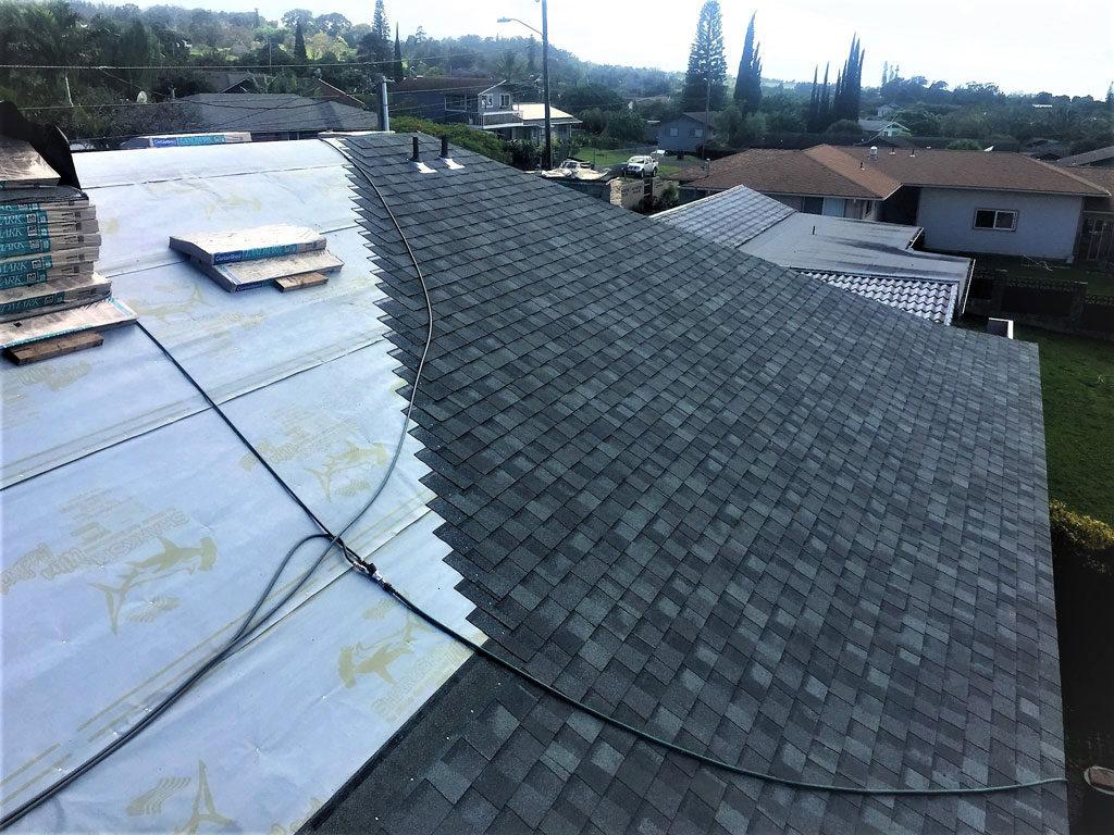 Maui Energy Saving Asphalt Shingles Sharkskin Roof