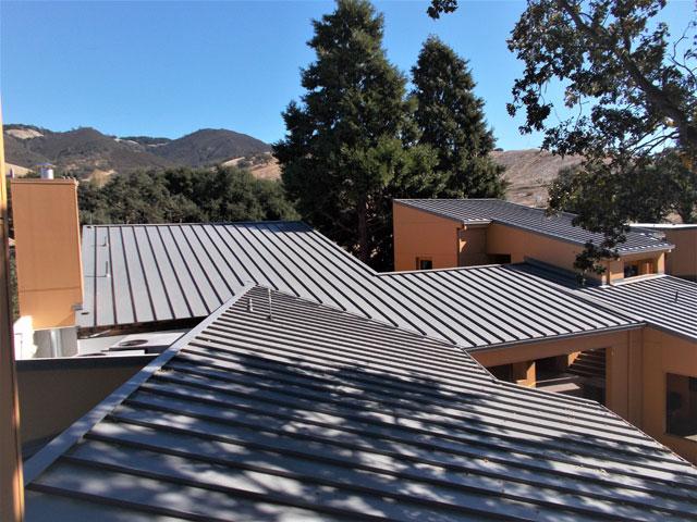 Athenian School Metal Roof Sharkskin Roof Underlayment