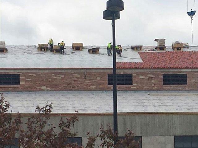 Uc Boulder Clay Tile Sharkskin Roof Underlayment