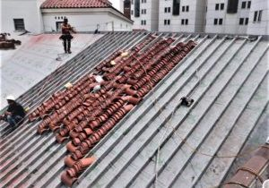 Hurricane Ike Sharkskin Roof Renovation